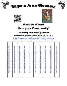 Reduce Waste with Tear Offs